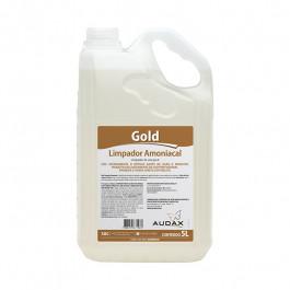 LIMPADOR AMONIACAL GOLD 5L - AUDAX