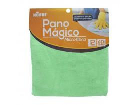 PANO MAGICO MICROFIBRA VERDE NOBRE 40X40CM- 2 PANOS
